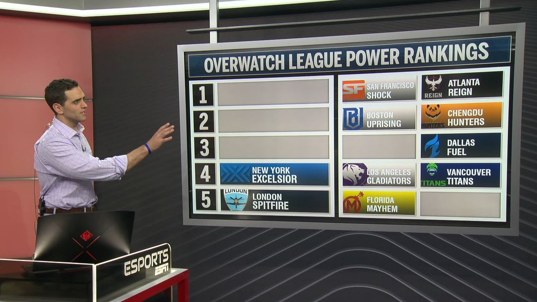 Overwatch League power rankings through Stage 2, Week 3