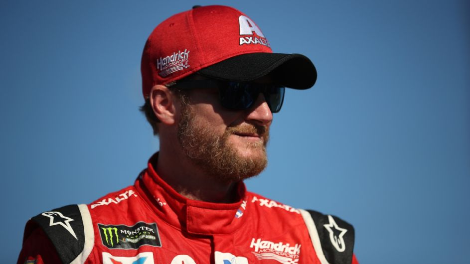 Video shows Earnhardts' scary exit of fiery plane