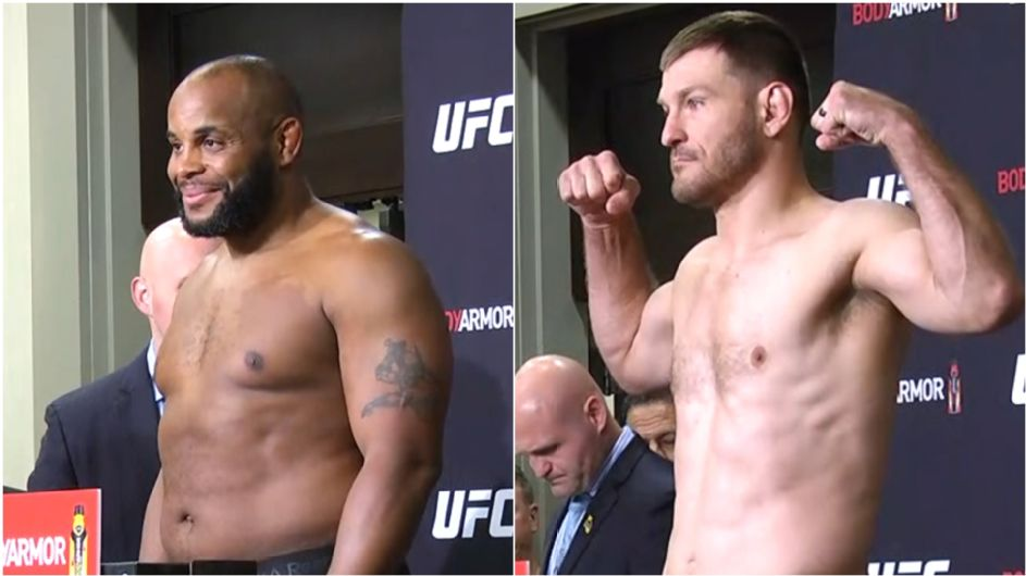 Cormier, Miocic hit scale lighter than for '18 fight