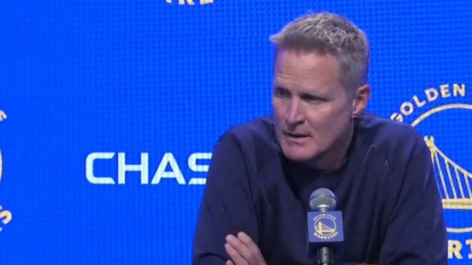 Steve Kerr says being called out by President Trump was 'surreal'