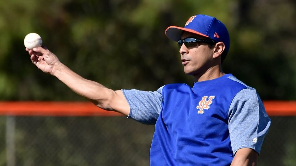 Jacob deGrom, Pete Alonso 'ready to go' as Mets' new manager, Luis Rojas, prepares for spring training