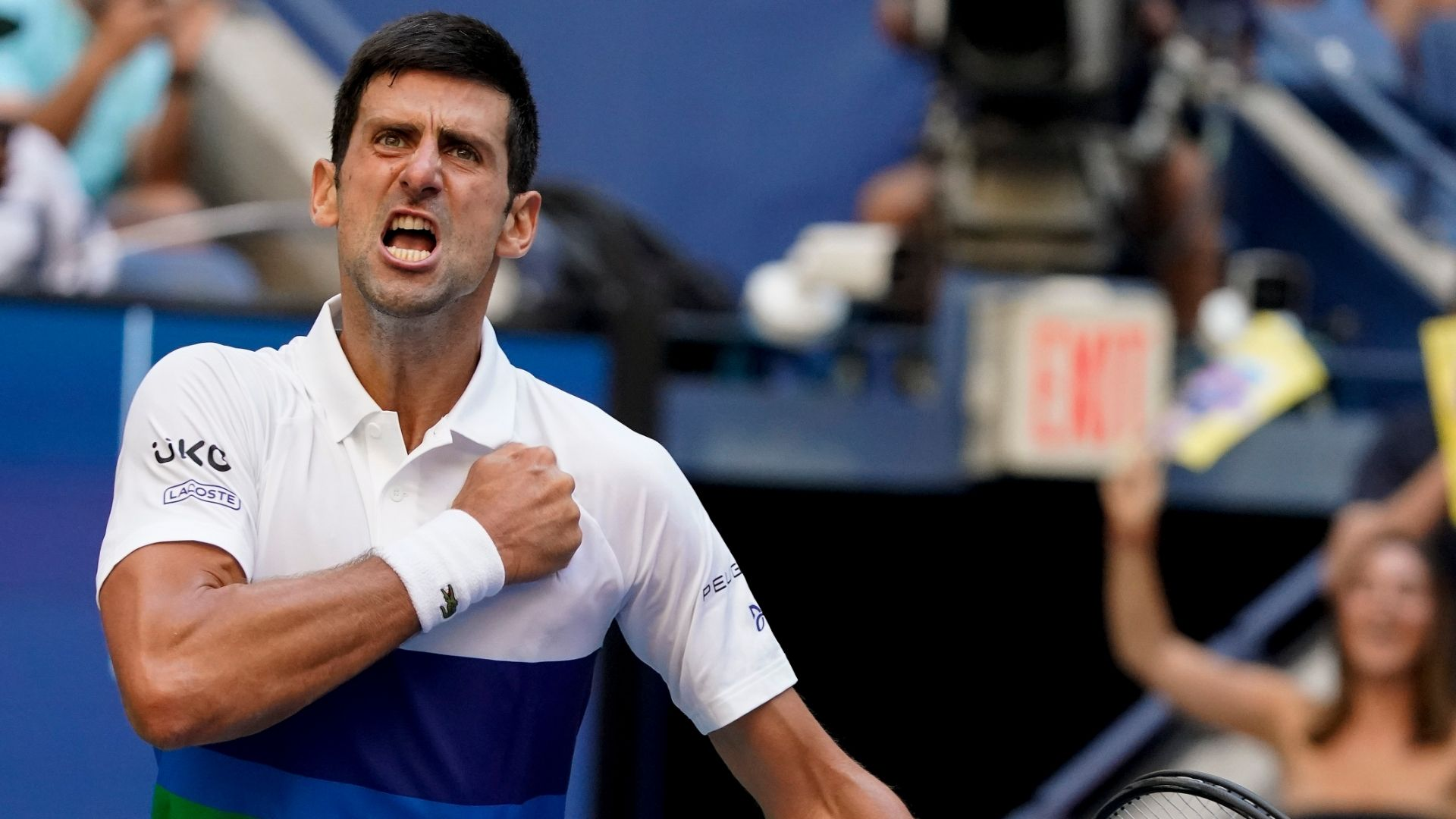 Novak Djokovic lets emotions show, 'gets groove back' in third round victory at US Open