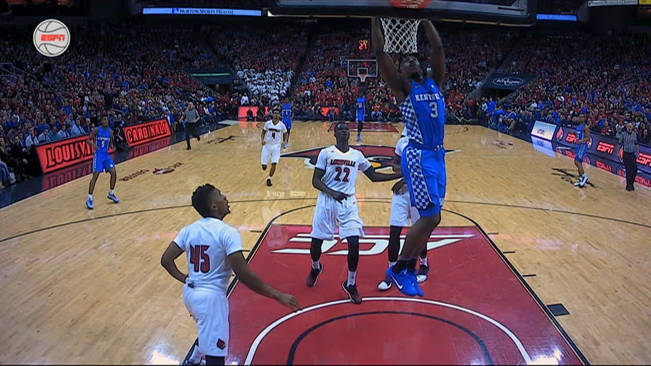 Kentucky scores in a flash with Adebayo's dunk - ESPN Video