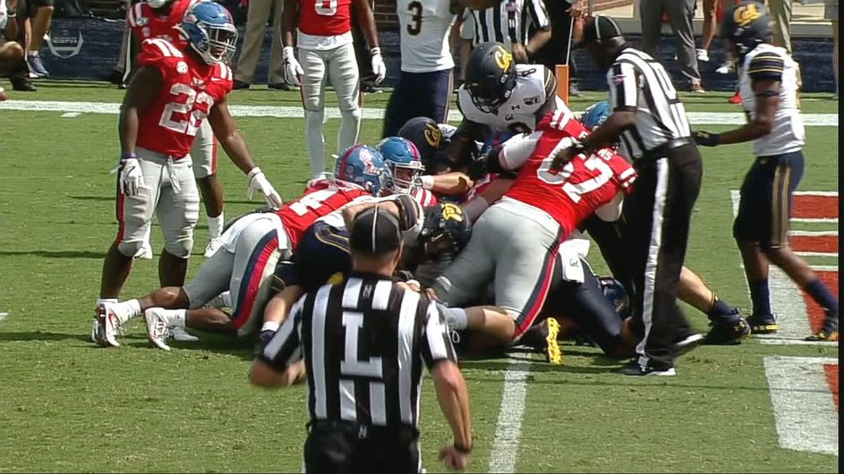 Ole Miss questions Pac-12 refs after bizarre finish