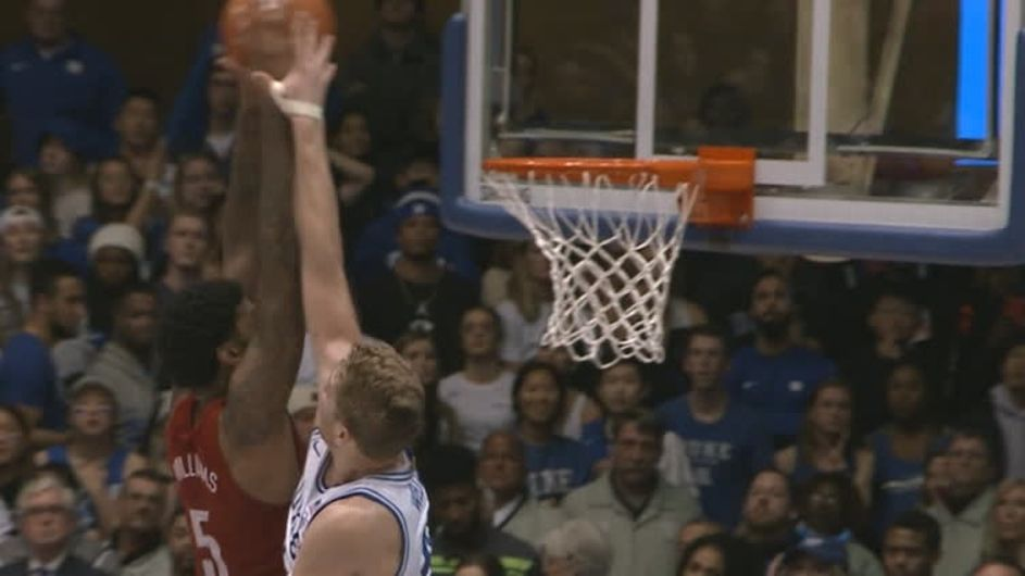 Louisville makes a statement at Duke; Calipari fires up Kentucky