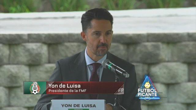 Así anunció Yon de Luisa las sanciones de FIFA