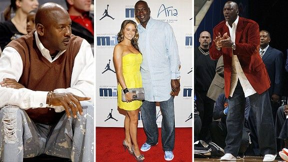 sports shoes 7ad2e a7a7e We look at the fashions of Michael Jordan - Trending - ESPN Playbook- ESPN