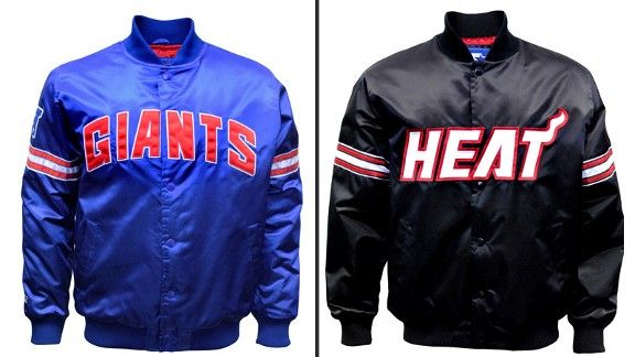outlet store 4e7a2 891cb Carl Banks relaunching satin Starter jackets - Dollars ...