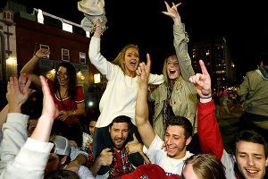 Boston celebrates World Series win