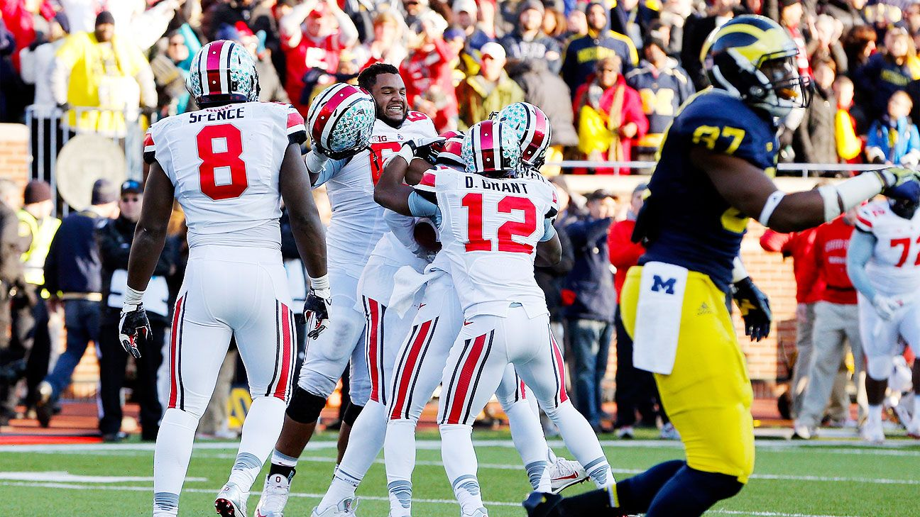Ryan McGee's Story of the Season Week 14 Ohio State Michigan Auburn -  College Football Nation Blog- ESPN