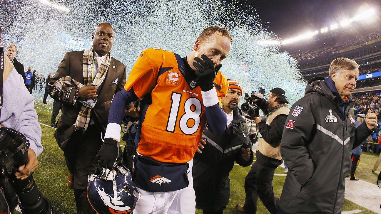 Fantastic Super Bowl Xlviii Peyton Manning Metlife Meltdown Reminds Beutiful Home Inspiration Truamahrainfo