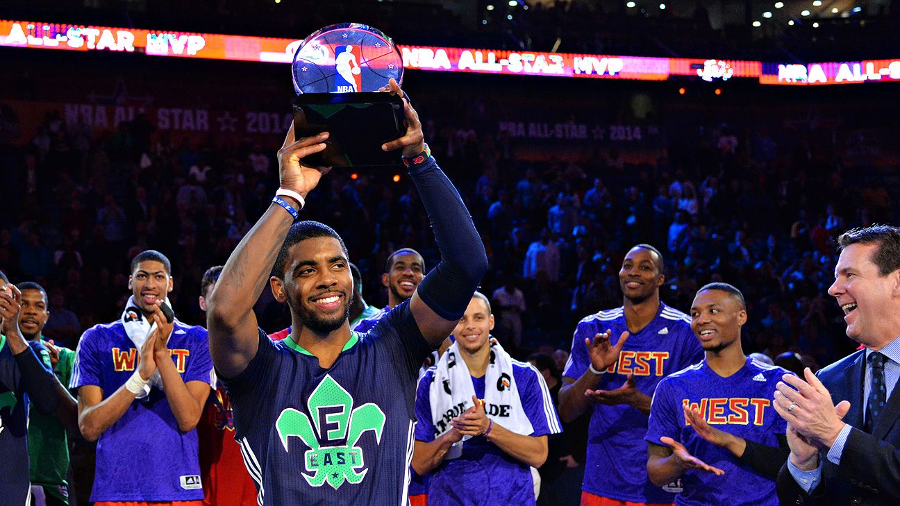80f1c2d0e04 2014 NBA All-Star Game -- Kyrie Irving of Cleveland Cavaliers named MVP