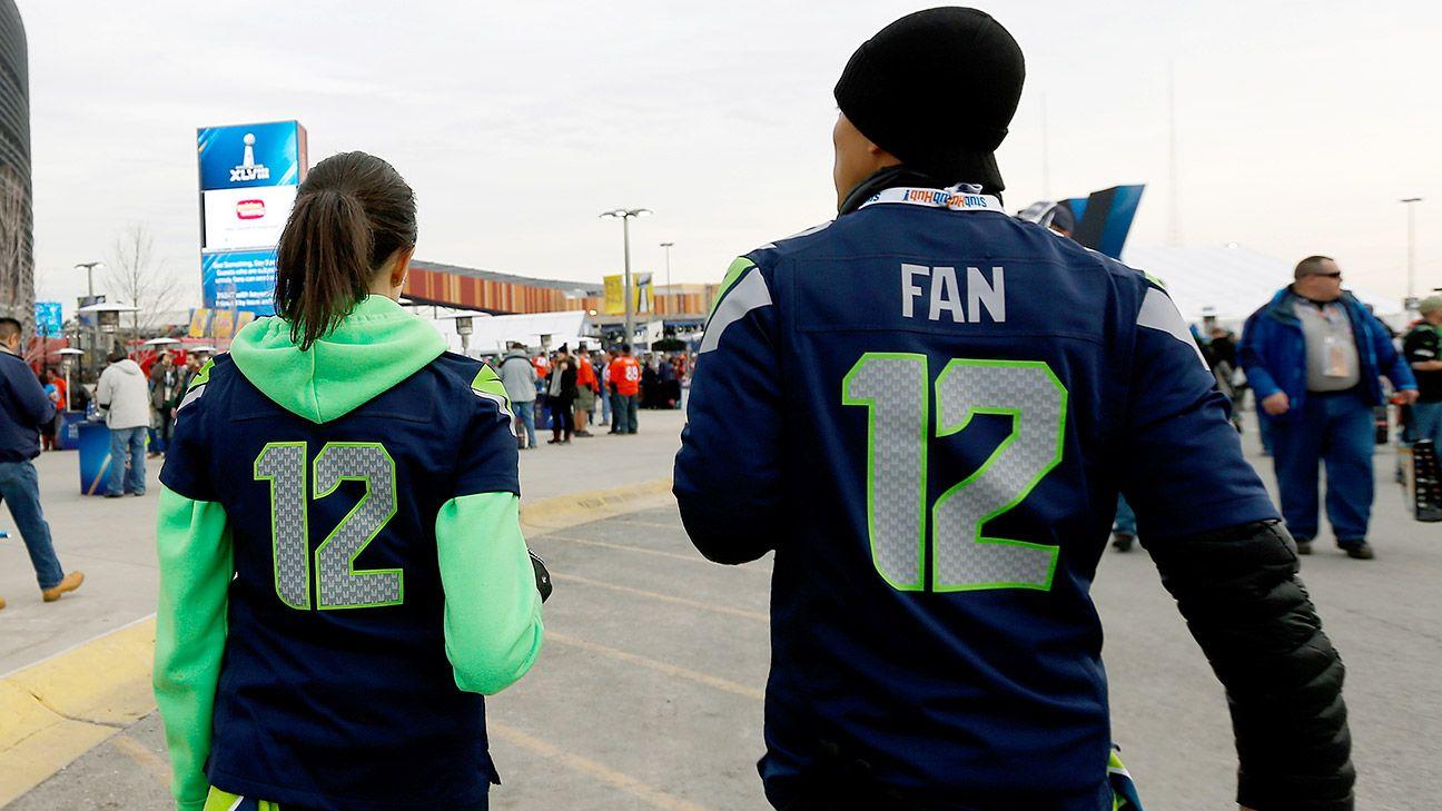 7834d7c83 Seattle Seahawks  12th Fan  climbs to 10th among best-selling jerseys