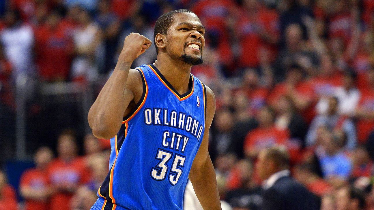 0d893f80f9d Kevin Durant of Oklahoma City Thunder stays with Nike after shoe company  matches Under Armour offer