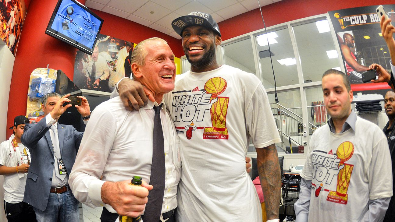 1ff65b9f2169 Pat Riley said LeBron James  did the right thing  when he left Miami -- NBA