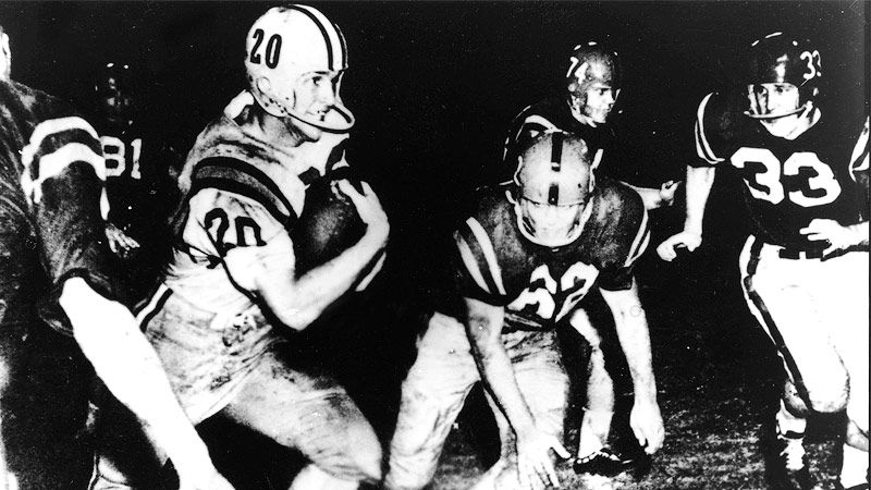 Billy Cannon Dies At 80 Lsu Tigers Lone Heisman Trophy