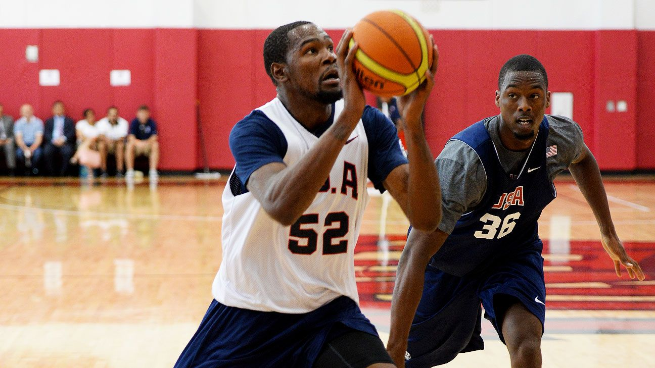 Durant lauds LeBron's move, unsure of own