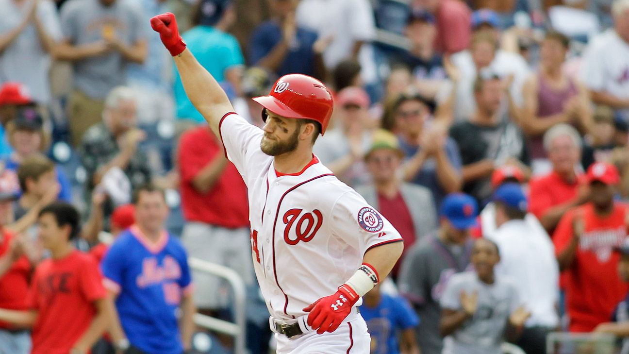 4407e2dac Washington Nationals star Bryce Harper gets new deal from Under Armour