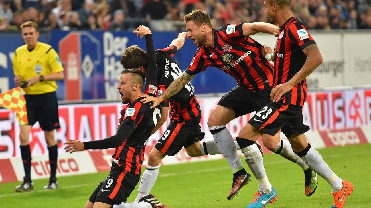 Eintracht Frankfurt Hamburg