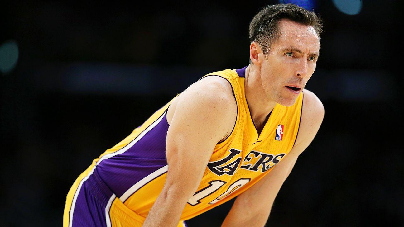 7f939f7a17c Steve Nash of Los Angeles Lakers announces retirement