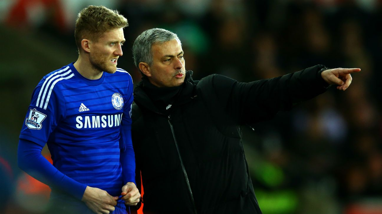 Andre Schurrle Difficult Jose Mourinho Turned Me Into Man At Chelsea