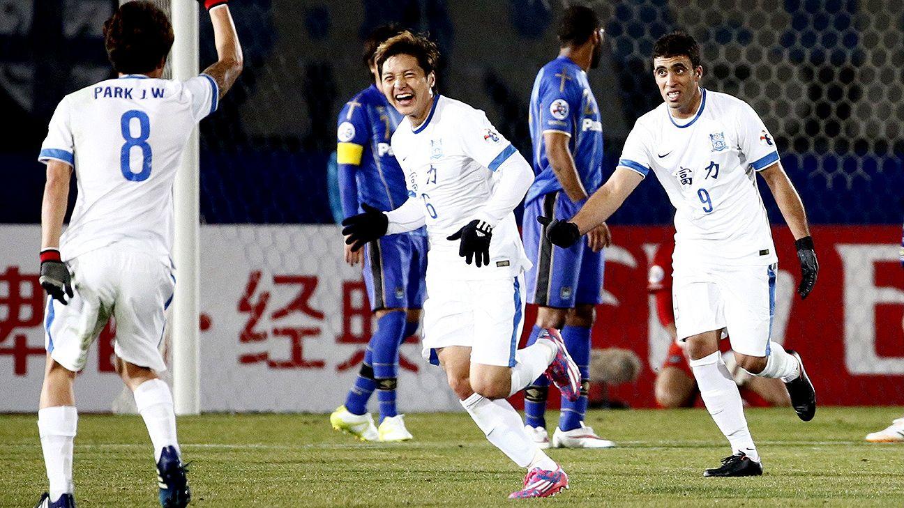 ACL: Guangzhou R&F stun Gamba Osaka