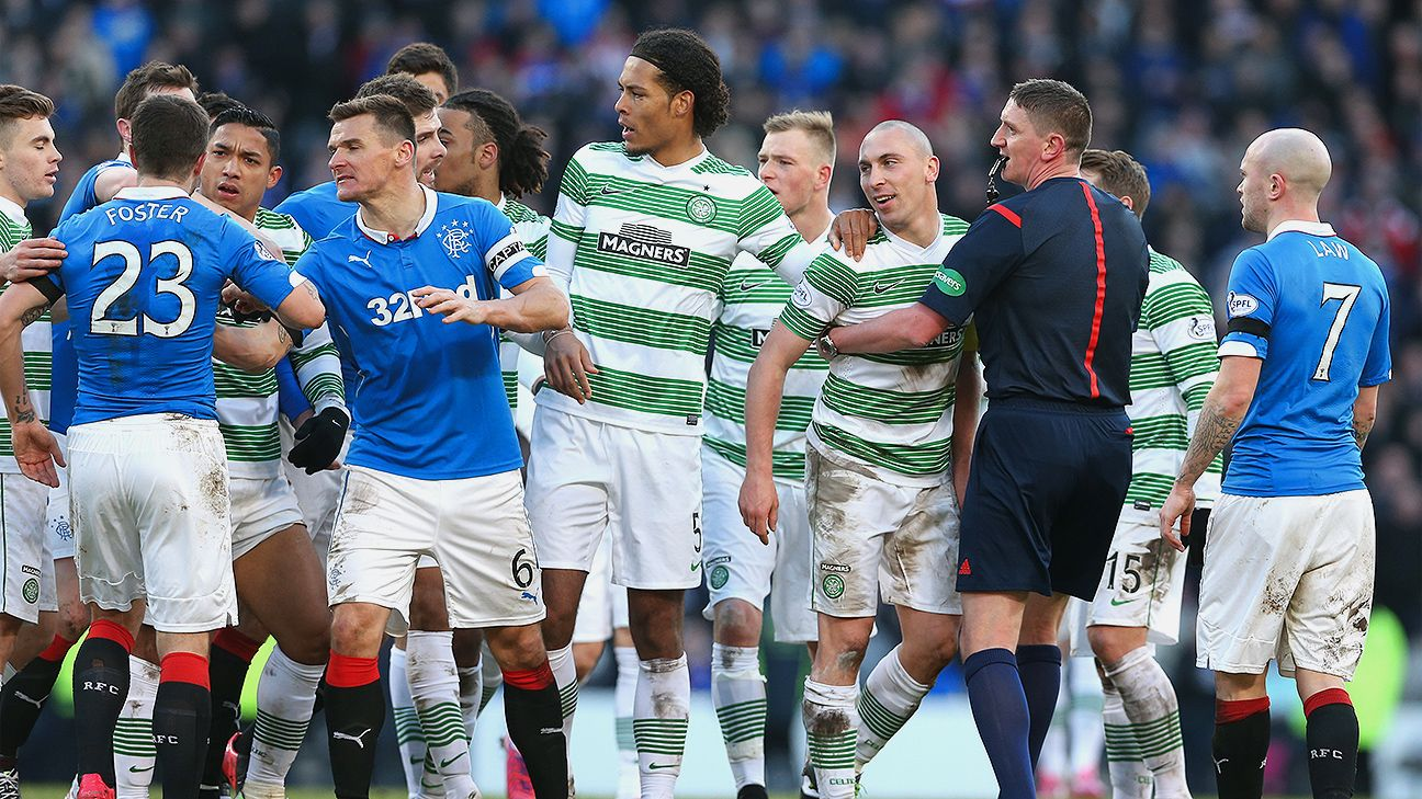 Image result for Celtic/Rangers derby