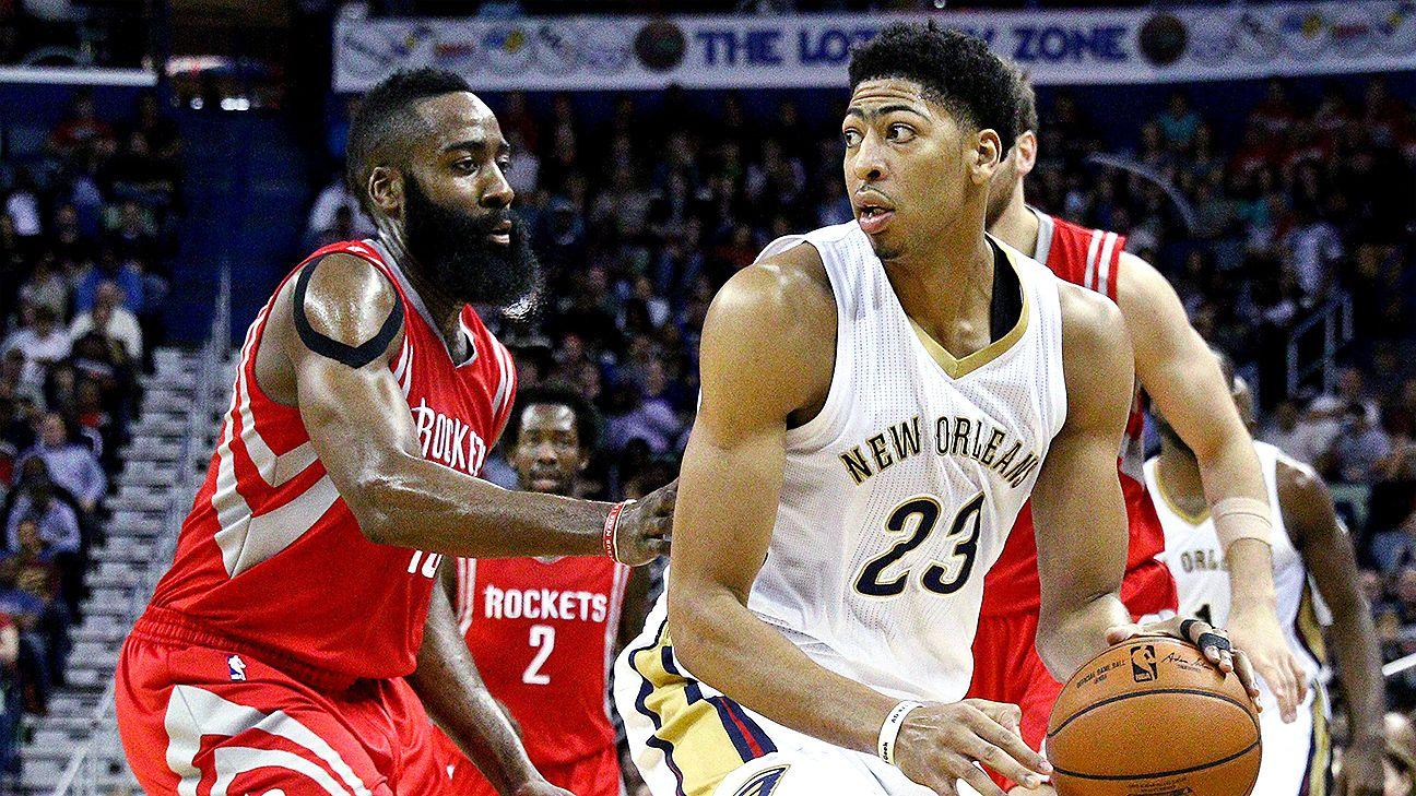 NBA: New Orleans Pelicans' Anthony Davis on MVP race