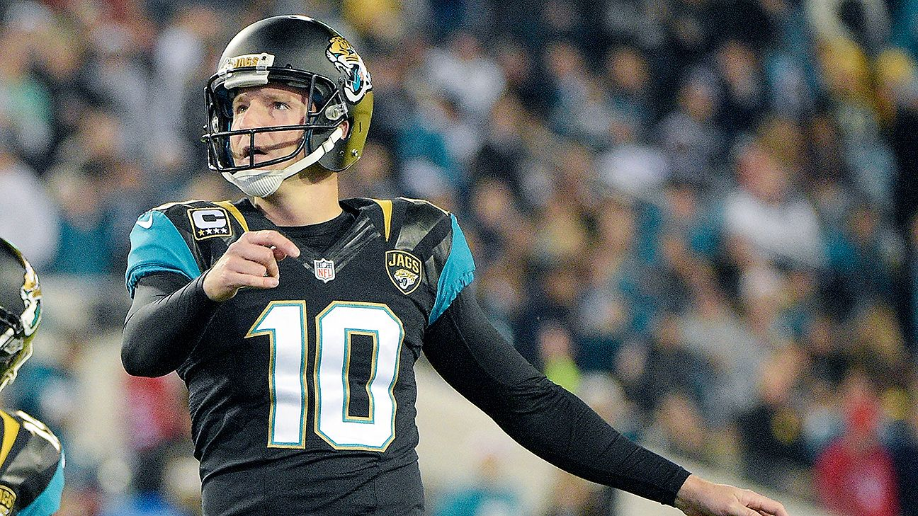 f0415dadf Jacksonville Jaguars trade kicker Josh Scobee to Pittsburgh Steelers