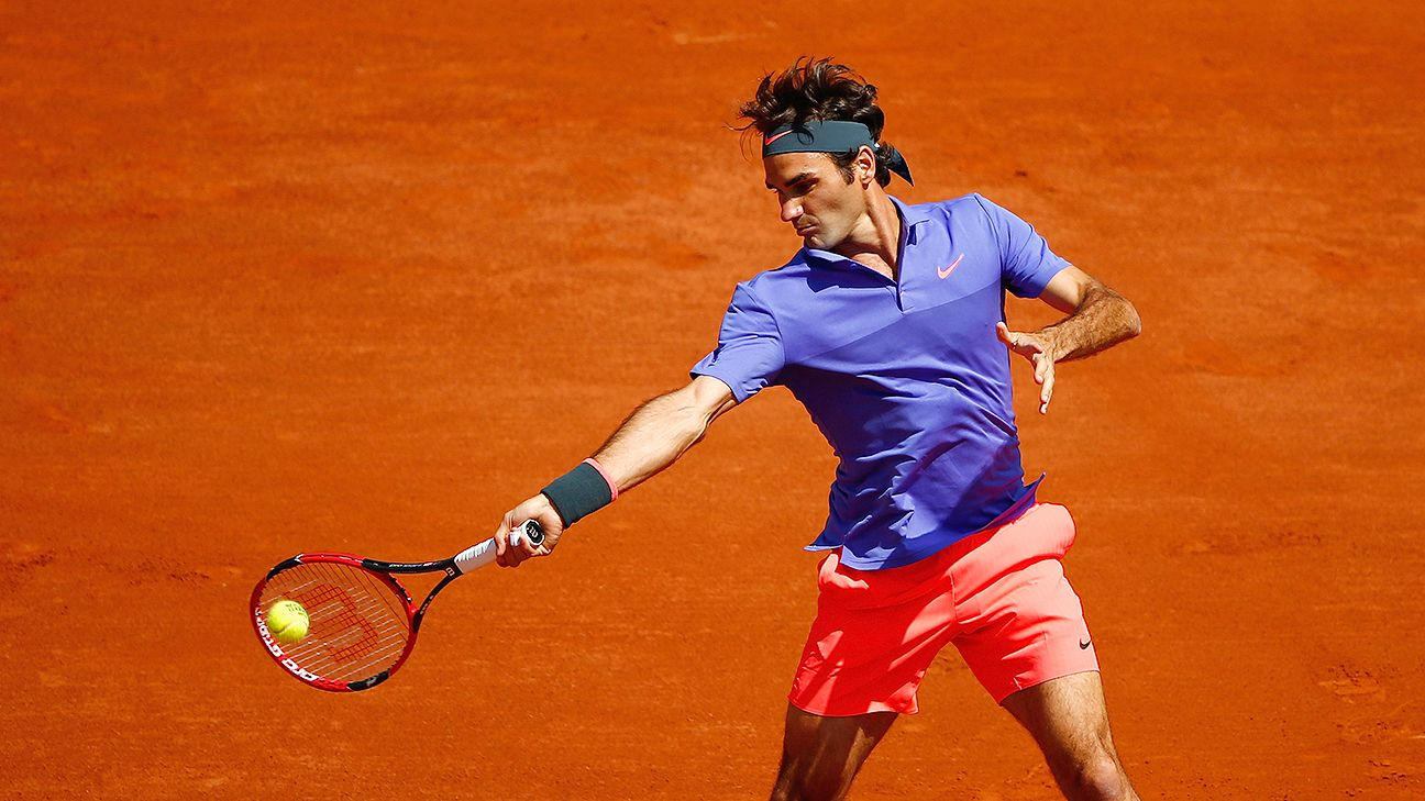 2f2210cd3ba French Open - Roger Federer his usual regal self in opener