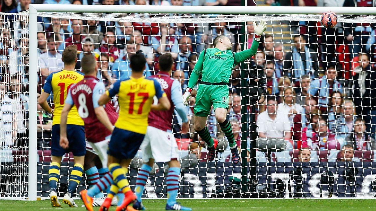 Arsenal vs. Aston Villa - Football Match Report - May 30, 2015 - ESPN