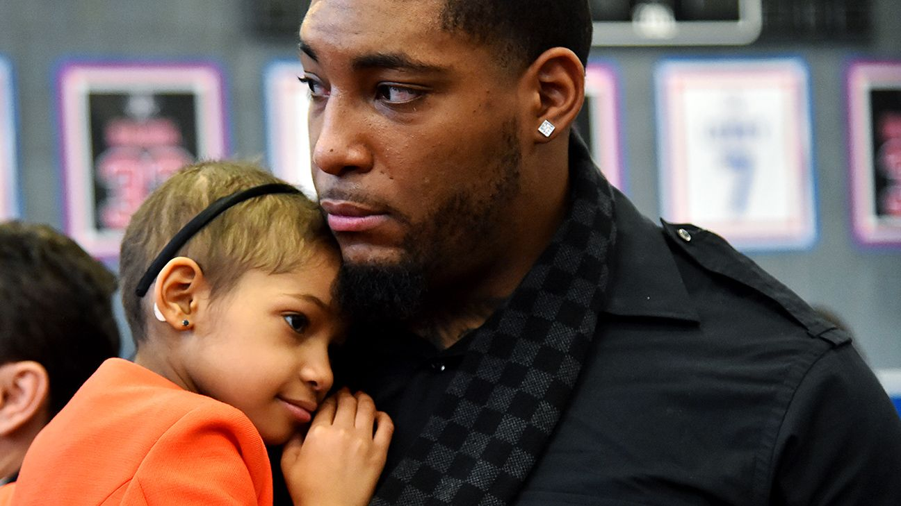 Fatherhood 'means everything' to Devon Still this Father's Day