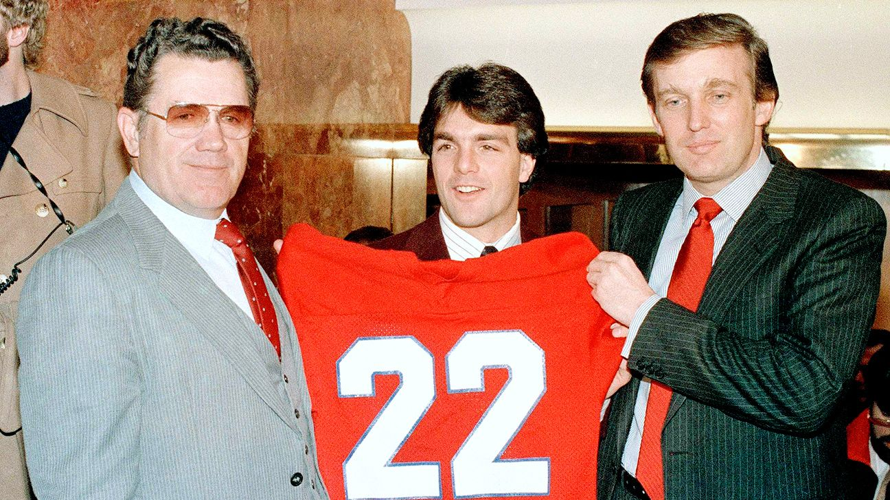 Image result for trump usfl