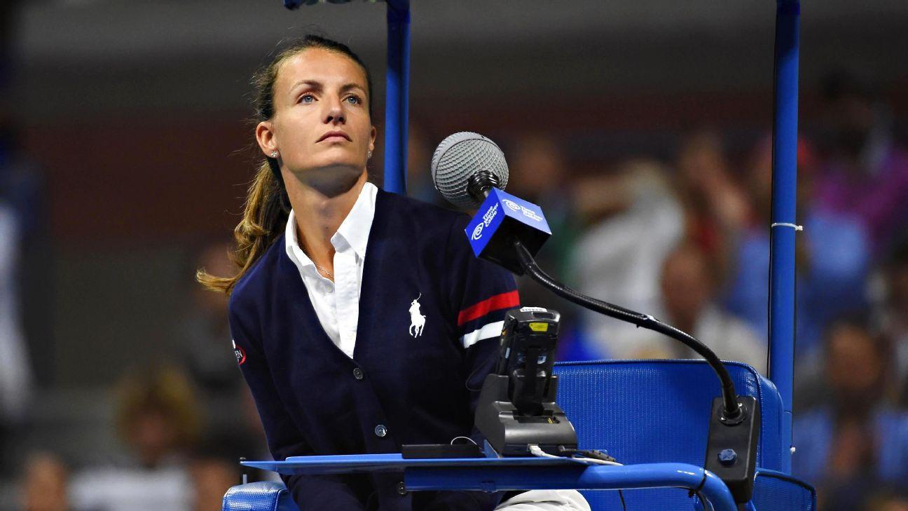 U S Open Men S Final Has First Female Chair Umpire