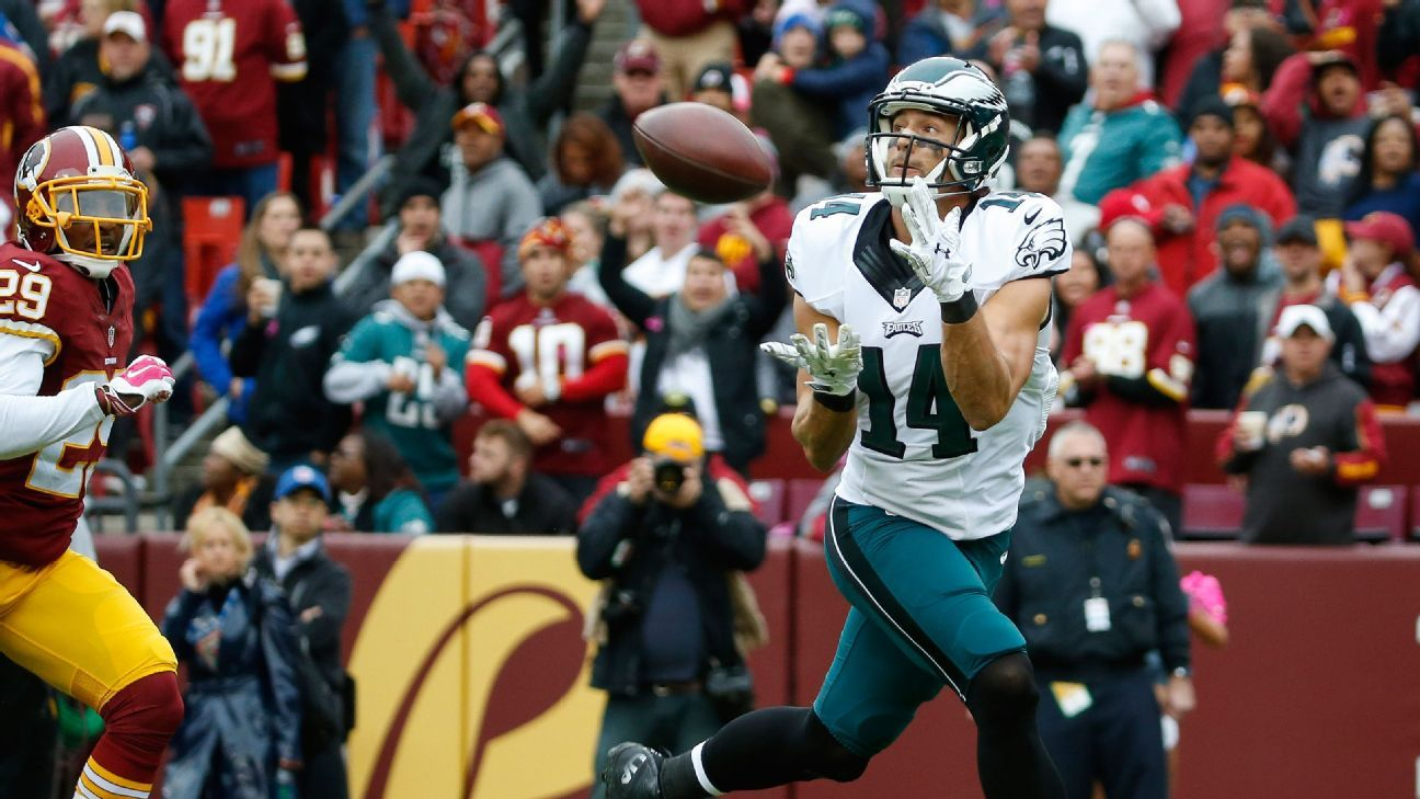 WR Cooper released by Eagles after 6 seasons