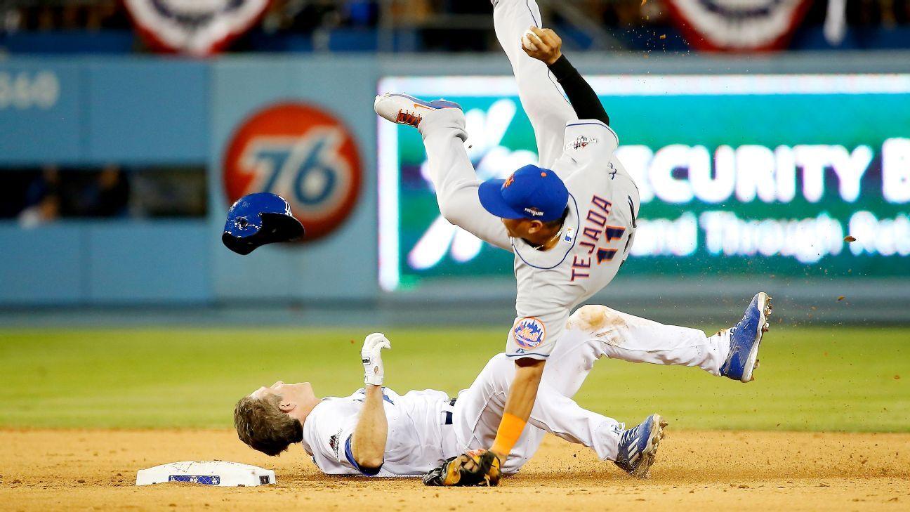 Sources: MLB eyes rule change for slides into 2B