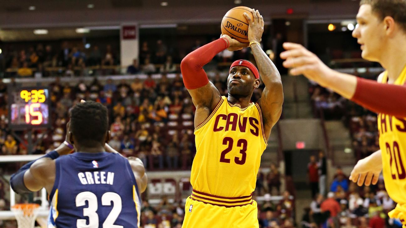 LeBron James not sweating Cleveland Cavaliers  0-3 preseason start -  Cleveland Cavaliers Blog- ESPN 1ea77b8d0
