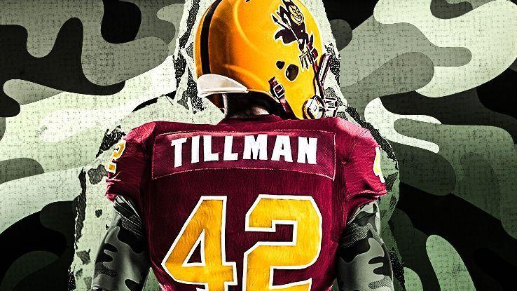 b4a48e89a Arizona State Sun Devils unveil Pat Tillman-themed uniforms - Pac-12 Blog-  ESPN
