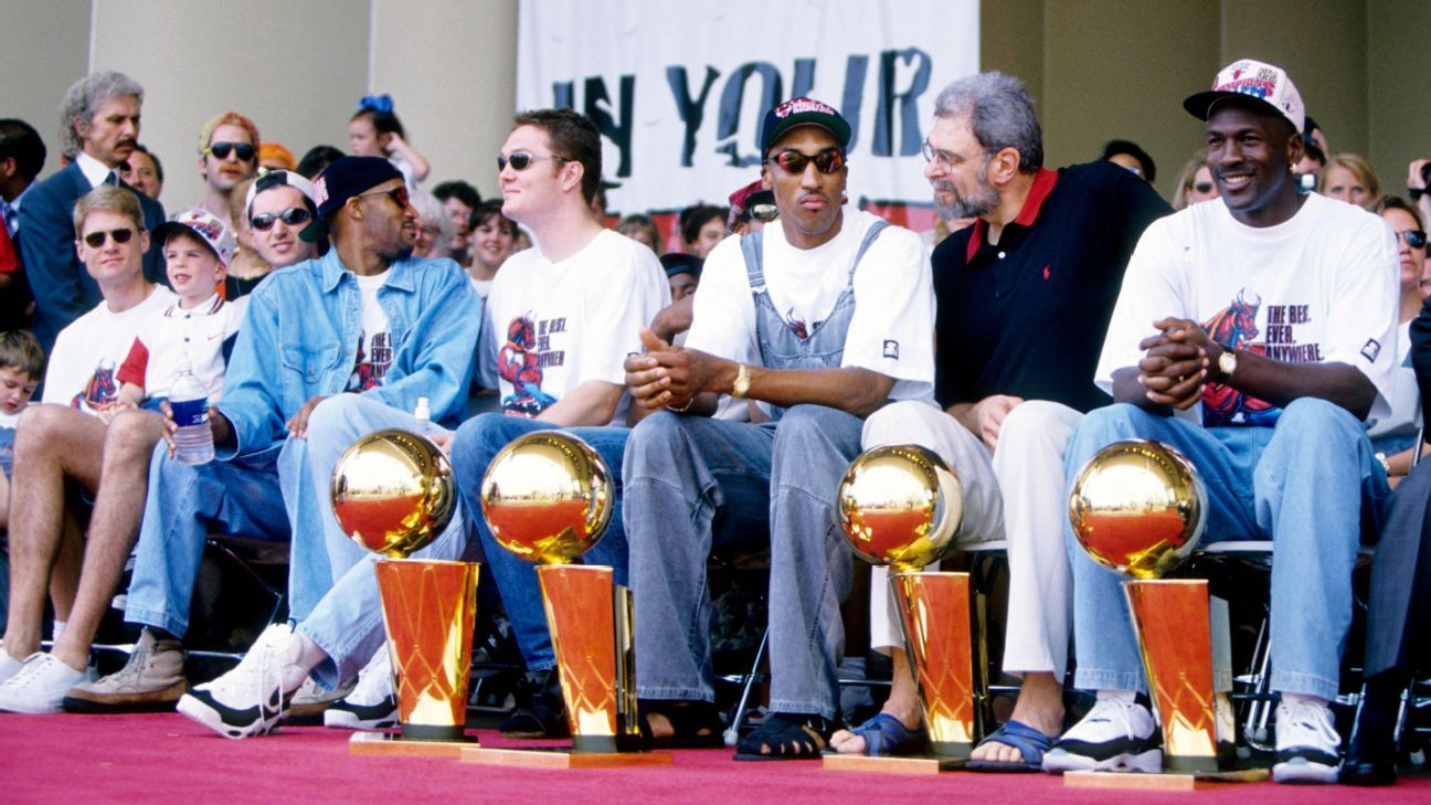 NBA - 72-10: Reliving the '95-96 Chicago Bulls