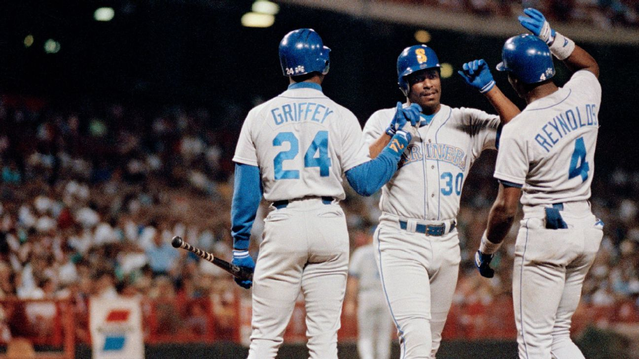 5eff931658 Junior's achievements: 24 of Ken Griffey Jr.'s most remarkable feats