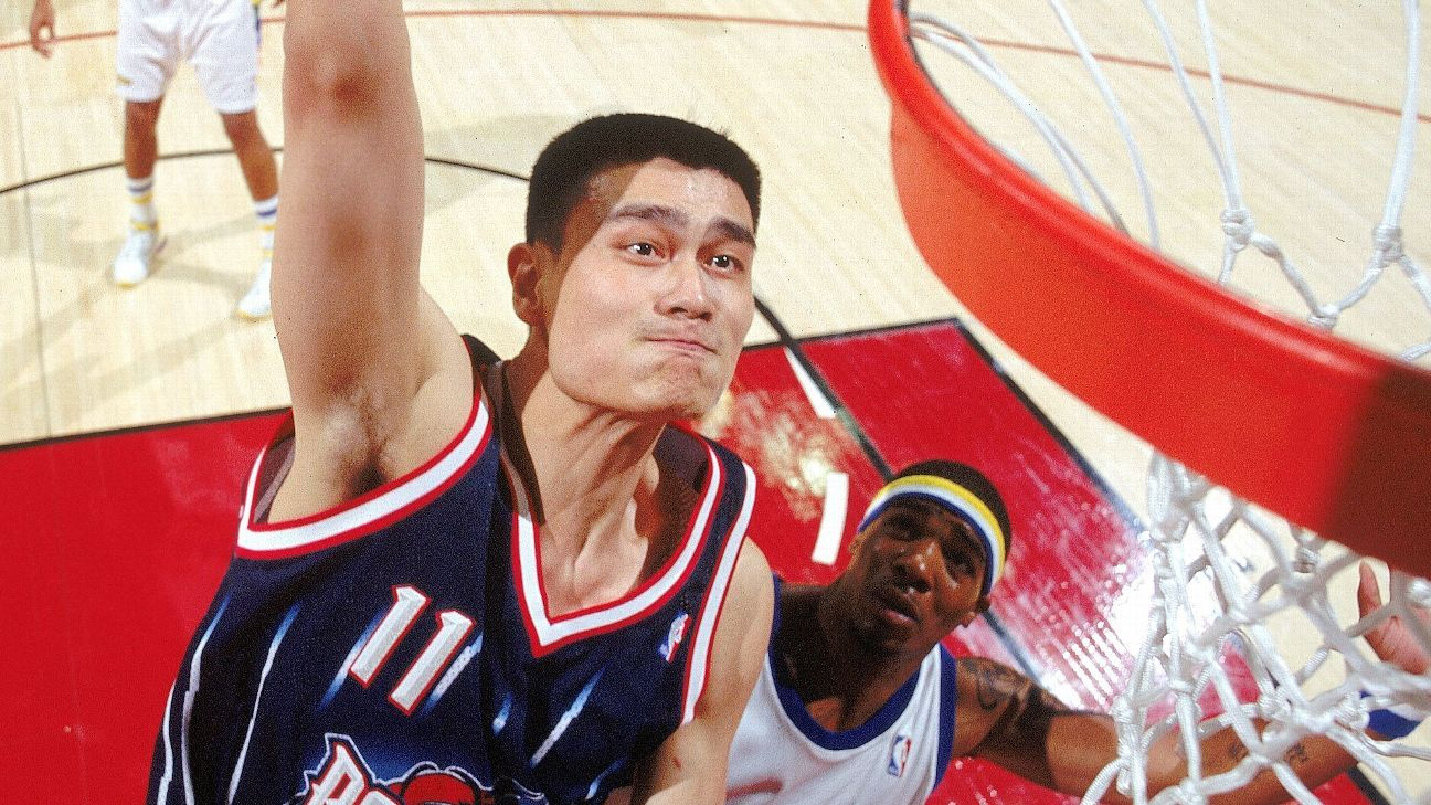 ba42f6193 Yao Ming to be inducted into Naismith Memorial Basketball Hall of Fame