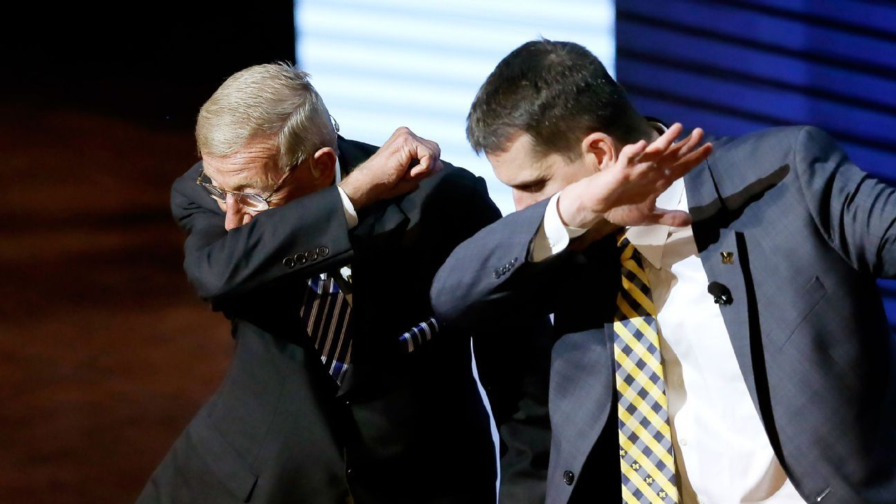 Michigan's Jim Harbaugh makes his own rules