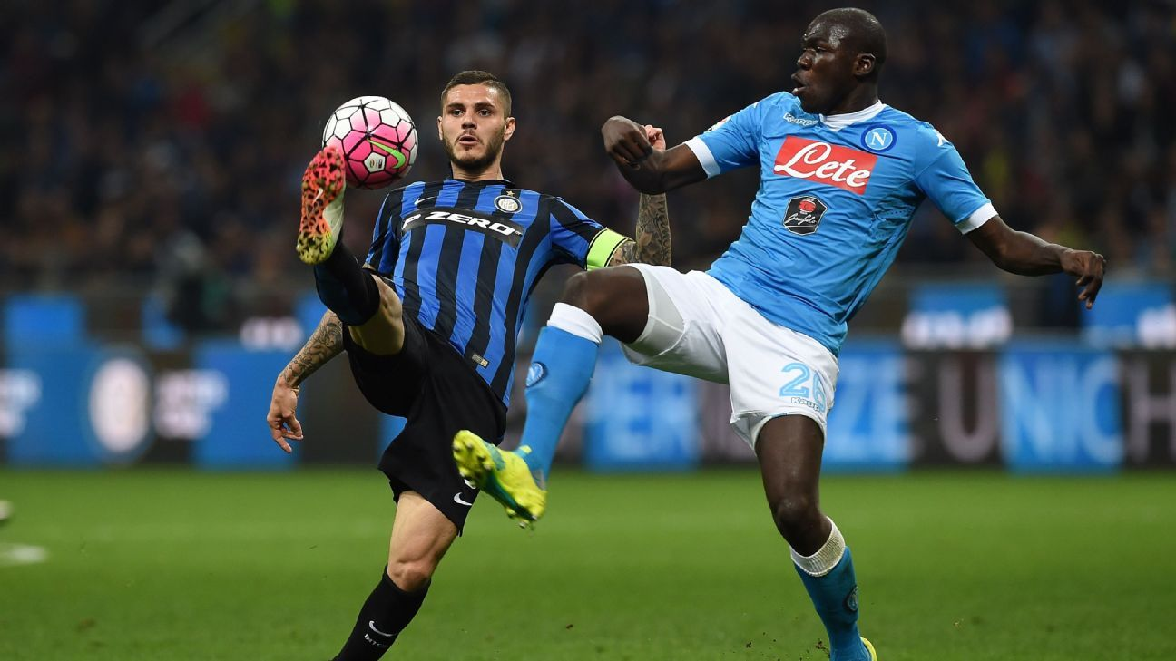 Image result for koulibaly tackle