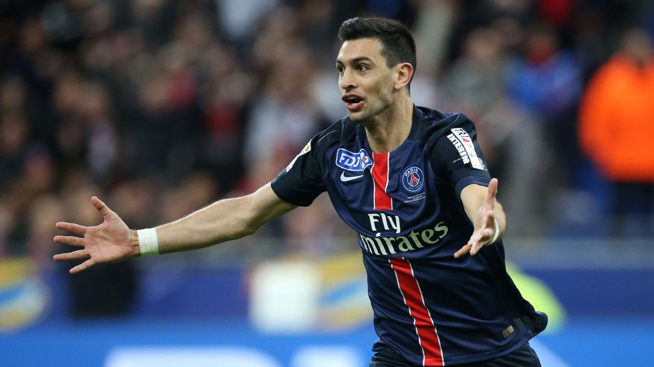 Source: Pastore interest from Chelsea, Italy