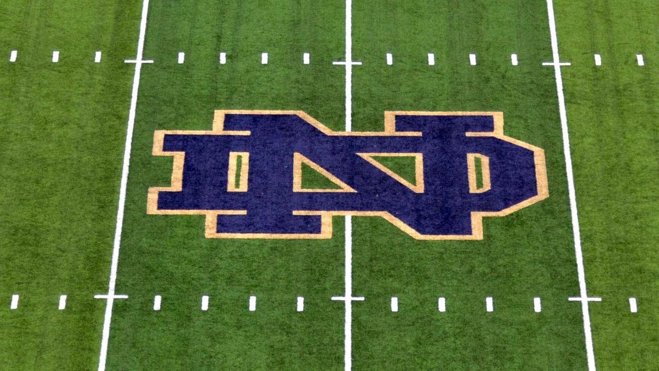 Notre Dame football placed on probation for one year over recruiting violations