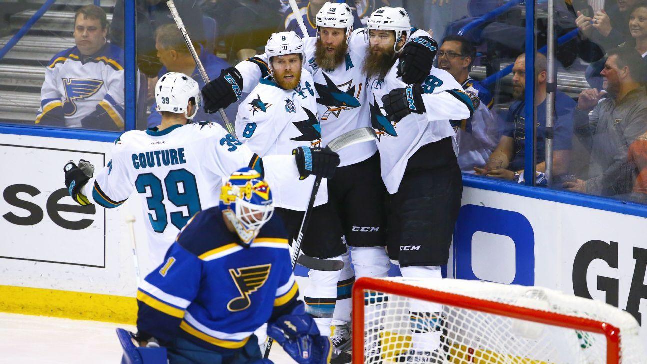Rapid Reaction: San Jose Sharks 4, St. Louis Blues 0
