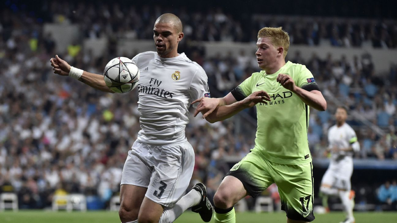 a5ed07f45bf Real Madrid s key Champions League battles include Pepe vs. Griezmann