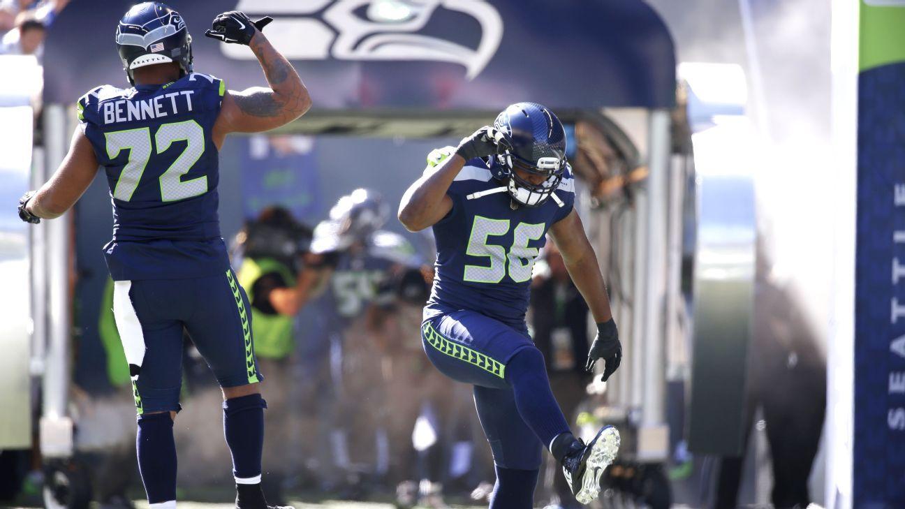 1b82f0741 Seattle Seahawks  Cliff Avril no longer wants to punch Michael Bennett -  Seattle Seahawks Blog- ESPN