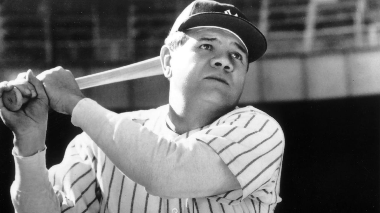 Why was babe ruth called babe-2104
