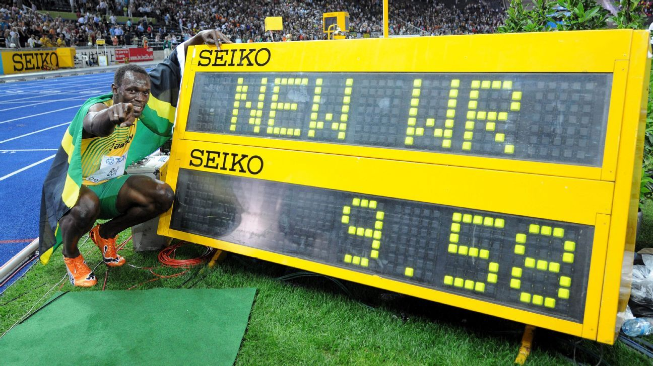 Speed limit: How fast can a human being run 100 meters?